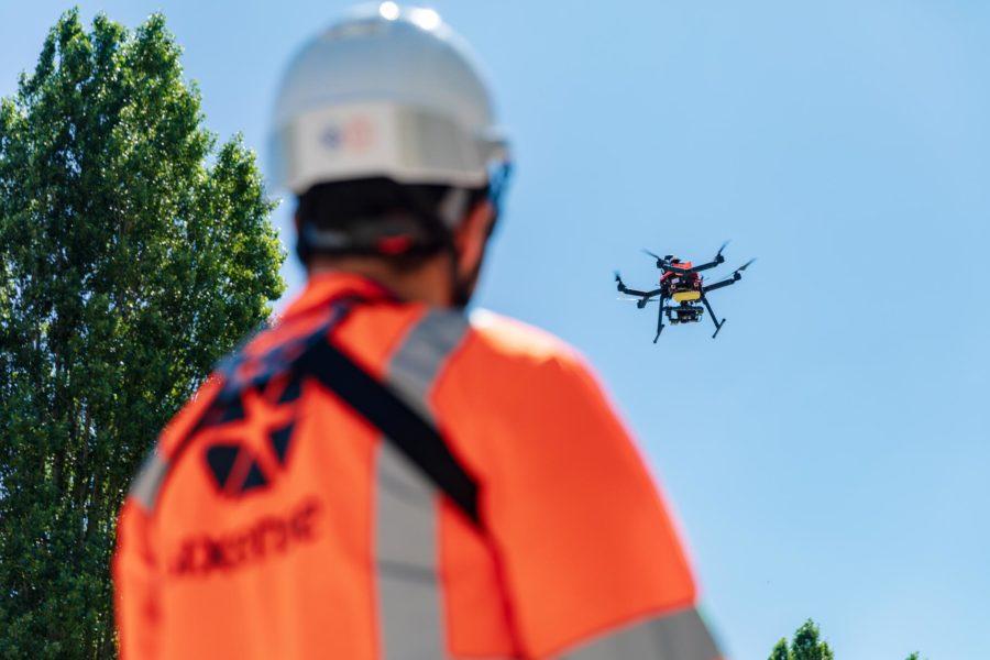SIXENSE digitalise votre patrimoine par drone