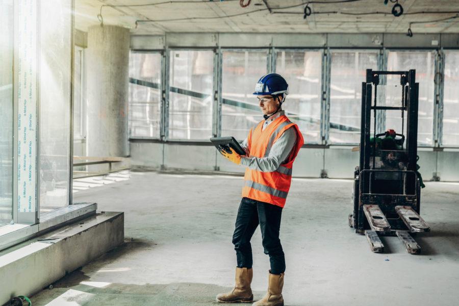 VINCI Construction utilise DigitalSite de SIXENSE sur le chantier Tour Saint Gobain - La Défense