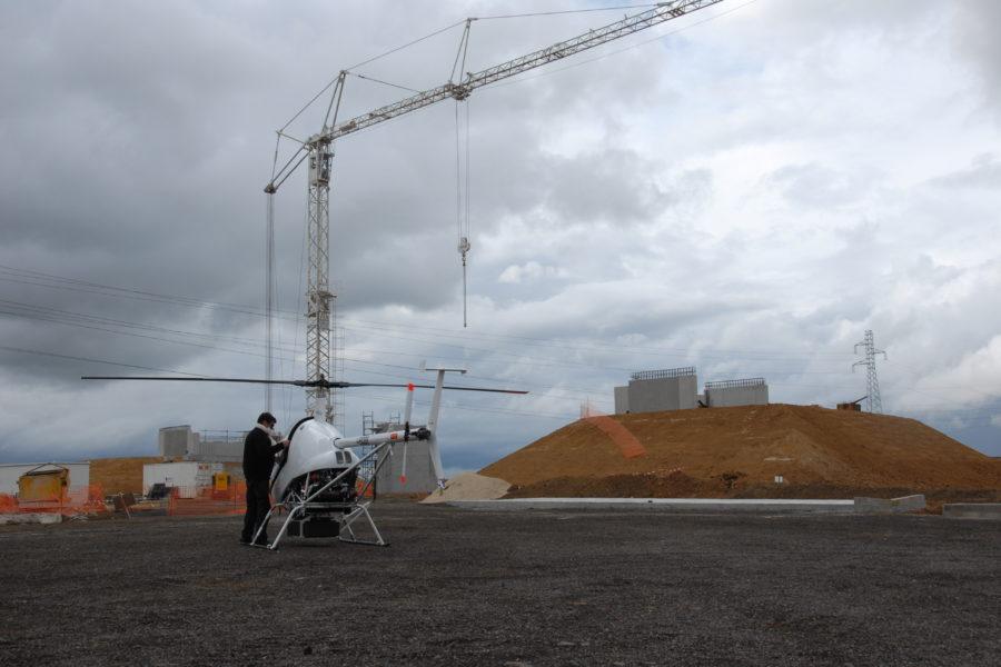 relevé linéaire héliporté - digitalisation au service des entreprises de construction