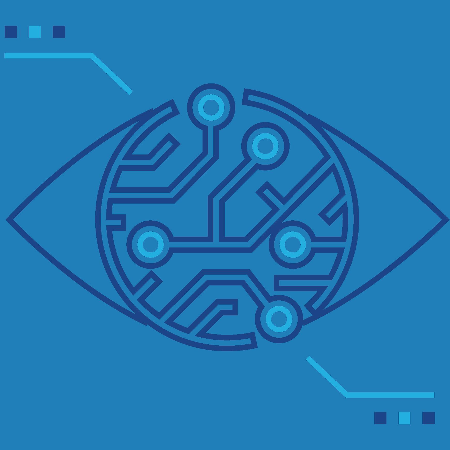 Pictogramme représentant le pôle métier Monitoring de SIXENSE