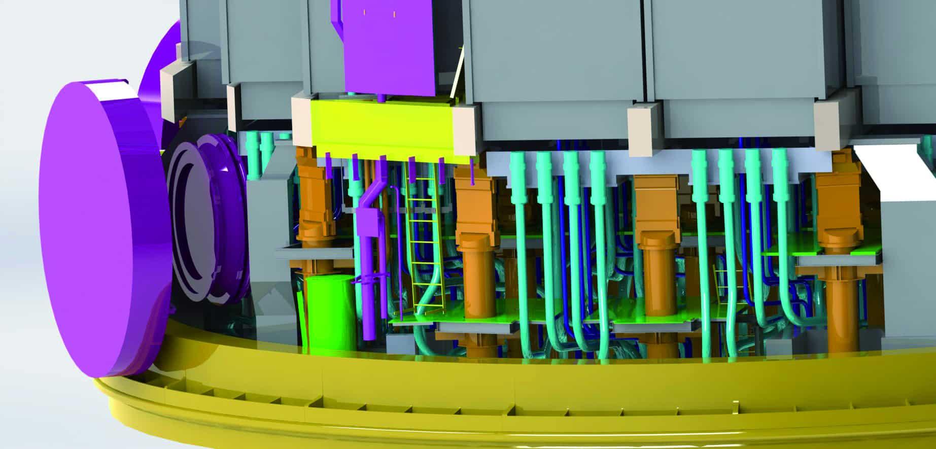 Jumeau numérique de réacteur nucléaire
