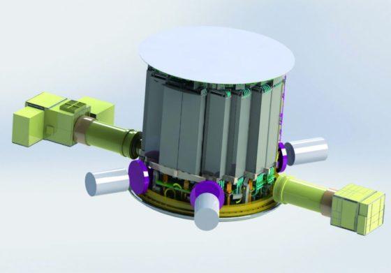 Jumeau numérique de l'enceinte de réacteur d'une centrale nucléaire
