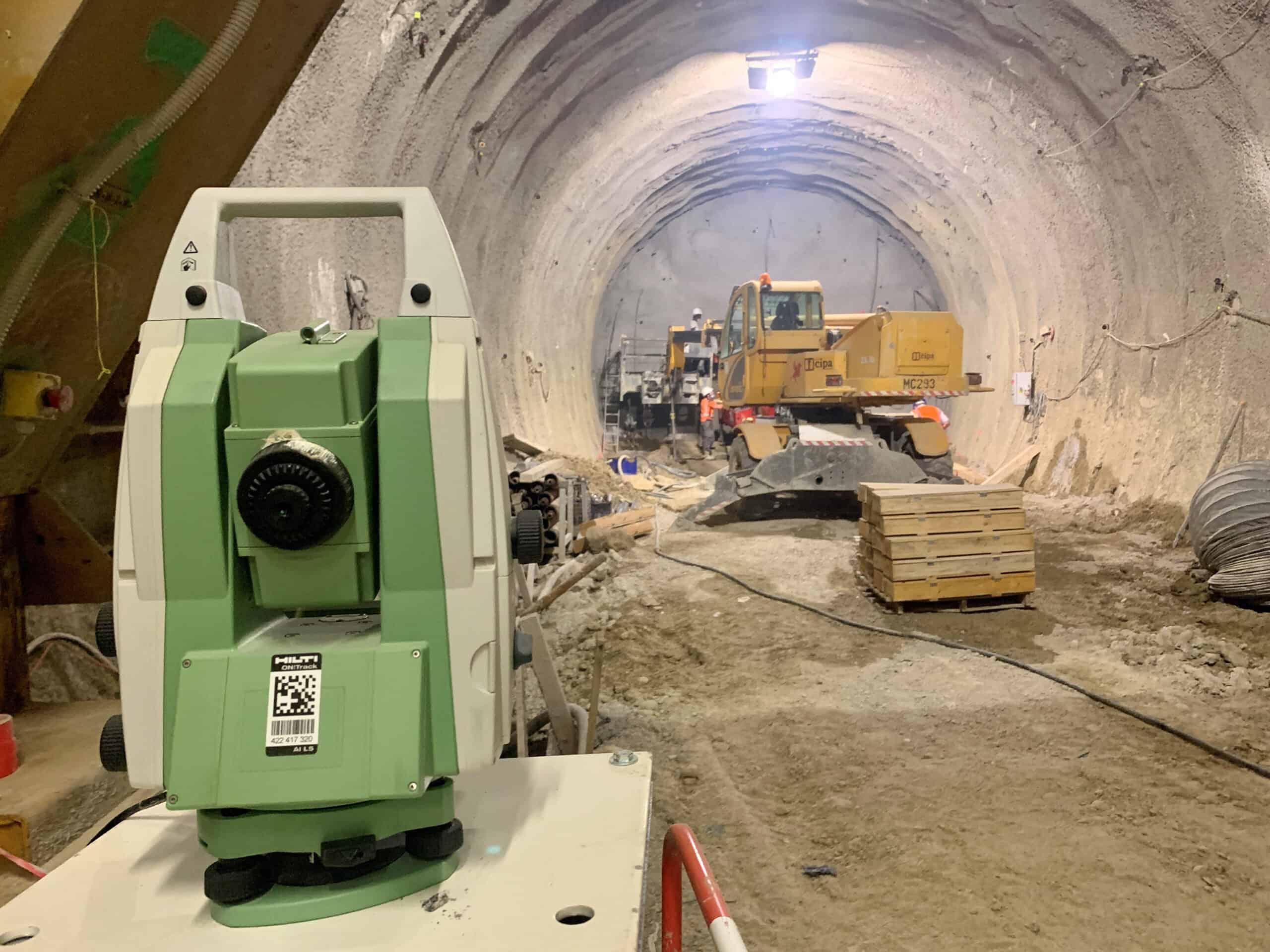 la solution CYCLOPS par SIXENSE pour les tunnels