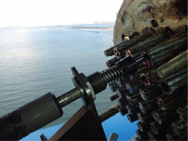 Uscan SIXENSE Méthode d'auscultation des haubans ou cables de précontrainte