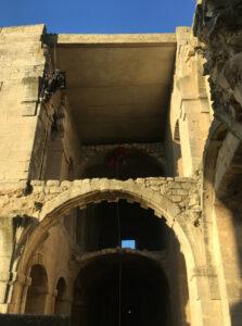 Monitoring Abbaye de Montmajour - Provence, France